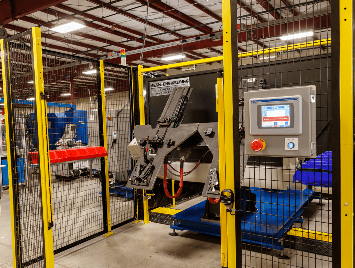 Thin Aluminum Welding Cell with CMT | MESH Automation